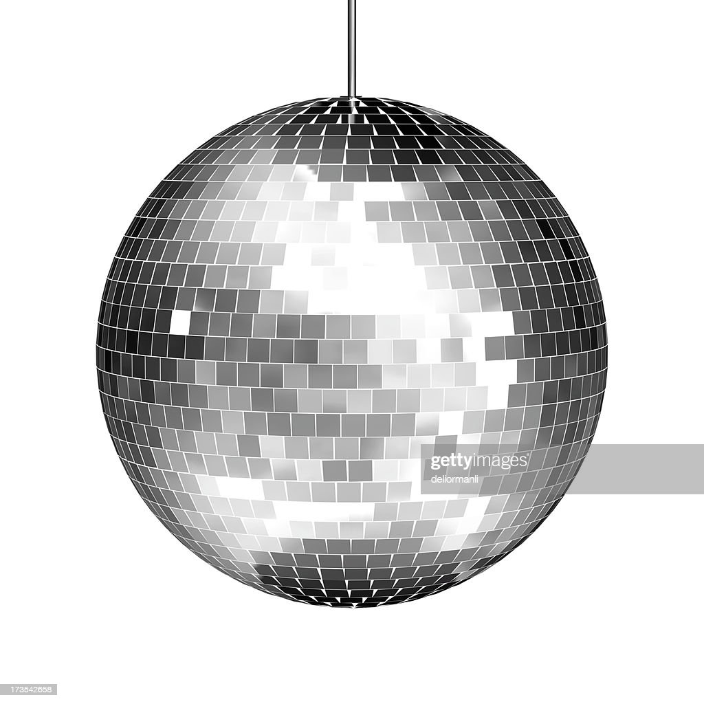 Disco Mirror Ball : Stock Photo
