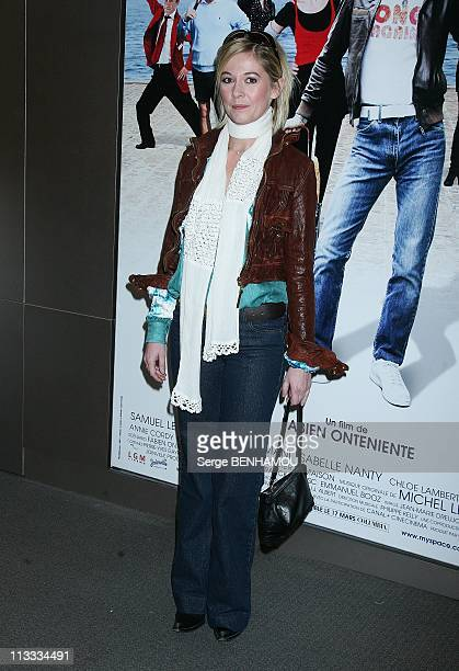 'Disco' Premiere In Paris France On April 01 2008 Flavie Flament