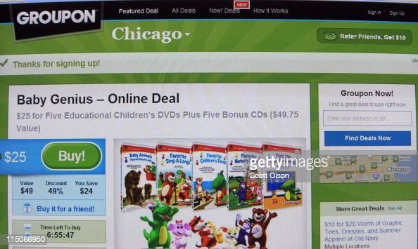 A discount on educational DVDs for children is offered through the Groupon website in the Chicago area on June 2 2011 in Chicago Illinois Groupon...