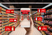 Supermarket, Discount, Shopping, Store, Smart Phone