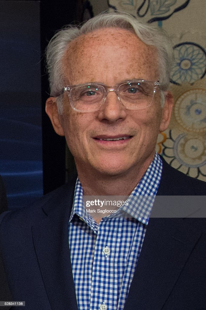 Discovery Channel Executive VP John Hoffman attends the 'Sonic Sea' New York screening at the Crosby Hotel on May 4, 2016 in New York City.