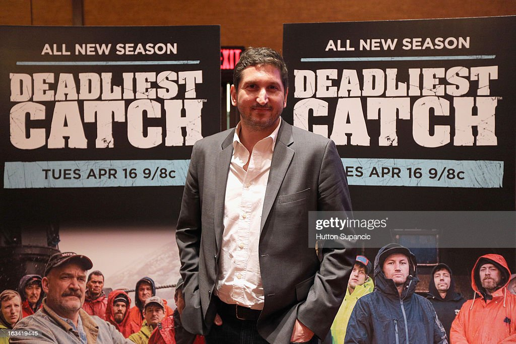 Discovery Channel's David Pritikin attends Deadliest Catch's Twitter For Tough Guys during the 2013 SXSW Music, Film + Interactive Festival at Hyatt Regency Austin on March 9, 2013 in Austin, Texas.