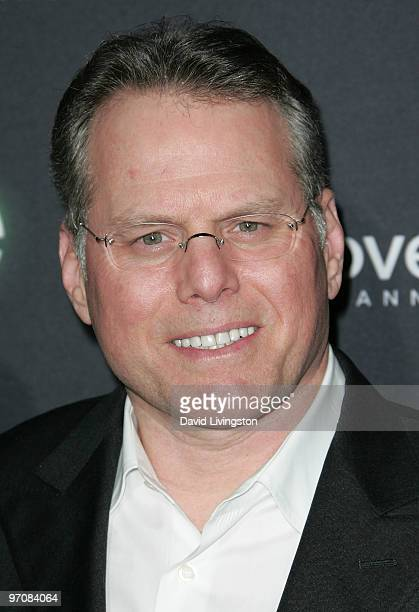 Discovery's David Zaslav attends the premiere screening of Discovery Channel's 'LIFE' at the Getty Center on February 25 2010 in Los Angeles...