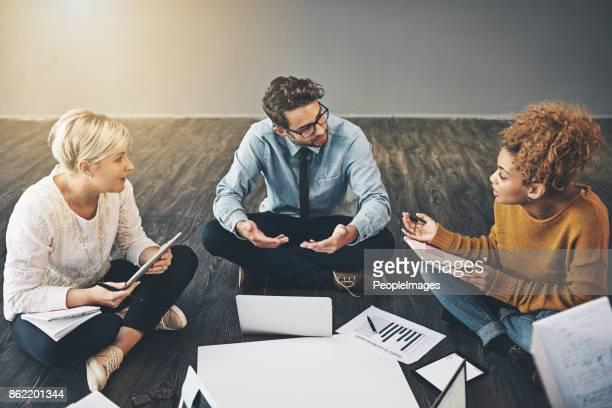 Discuter des idées afin d'améliorer leur