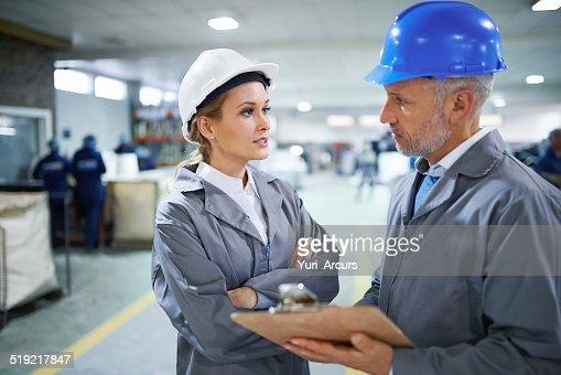 Discussing logistics