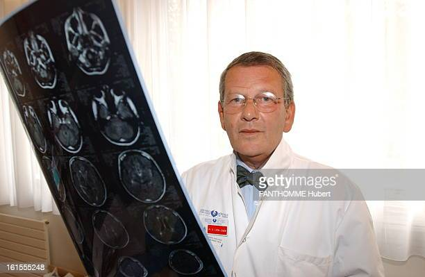 Diseases Of The Brain Front plane of Professor Olivier LyonCaen to images obtained by a cerebral examination Irm increasing the reliability of the...