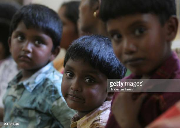 Diseases Toxicity Prassana Pratesh and Yesudas three children who developed deformities a symptom due to mercury contamination in the HLL factory in...