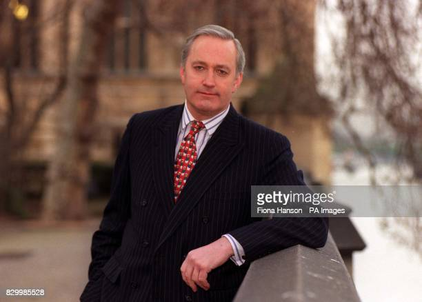Disgraced former Tory MP Neil Hamilton who was one of ten Tory MPs involved in the cashfor questions investigation poses for the media in London in...