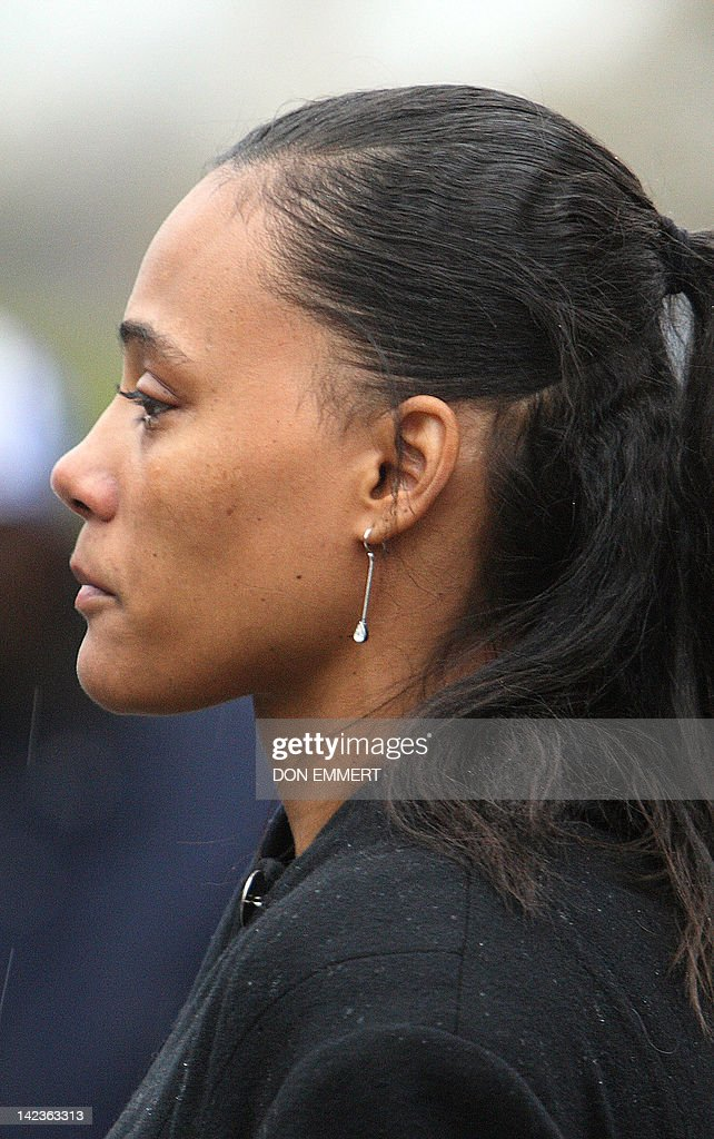 Disgraced former track star Marion Jones leaves Federal Court after sentencing 11 January 2008 in White Plains, New York. Jones was sentenced to six months in prison for lying about taking steroids in a doping scandal that cost the sprinter her Olympic medals. Jones had admitted she lied to federal investigators about being a dope cheat and about her role in a check fraud scheme.