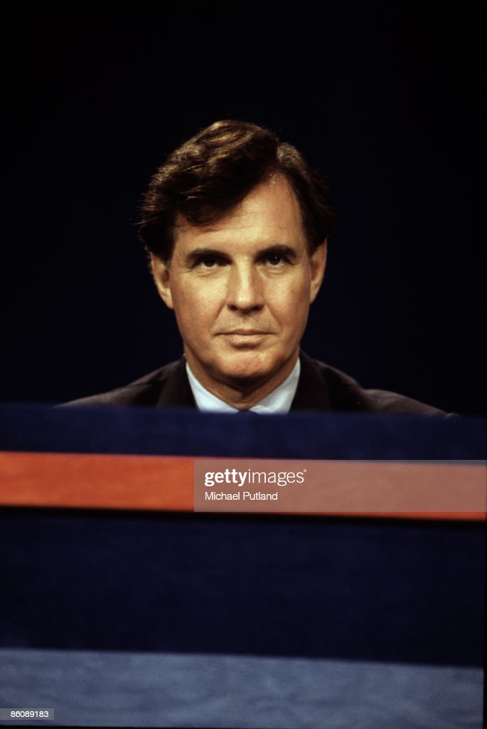 Disgraced minister Jonathan Aitken at the 1995 Conservative party conference.