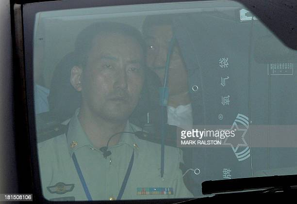 Disgraced politician Bo Xilai is driven from the Intermediate People's Court after being sentenced to life in prison when his verdict was announced...