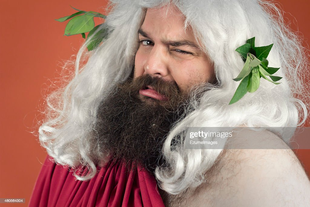 Disgusted God : Stock Photo