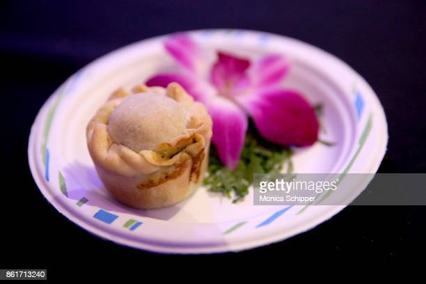 A dish prepared during Broadway Tastes presented by Variety at Metropolitan West on October 15 2017 in New York City