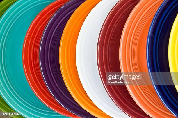 Dishware Rainbow