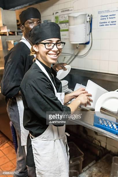 Dishwashers (real people)