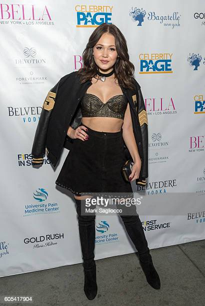 Disney Actress Kelli Berglund attends the BELLA New York September/October 2016 Cover Launch Party at Bagatelle on September 13 2016 in New York City