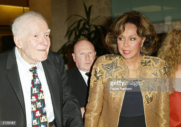 Disney animator Frank Thomas and actress Diahann Carroll attend the 30th Annual Vision Awards To Fight Blindness Gala at the Beverly Hilton Hotel on...