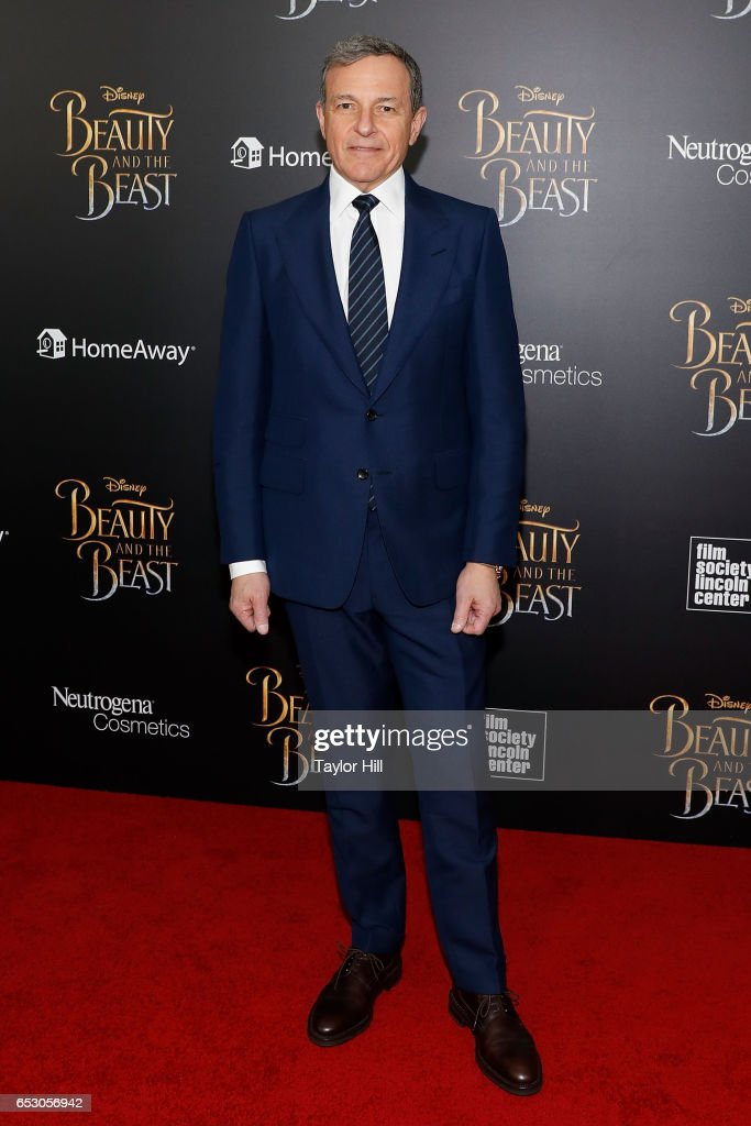 Disney Chairman and CEO Robert Iger attends the 'Beauty and the Beast' New York screening at Alice Tully Hall, Lincoln Center on March 13, 2017 in New York City.