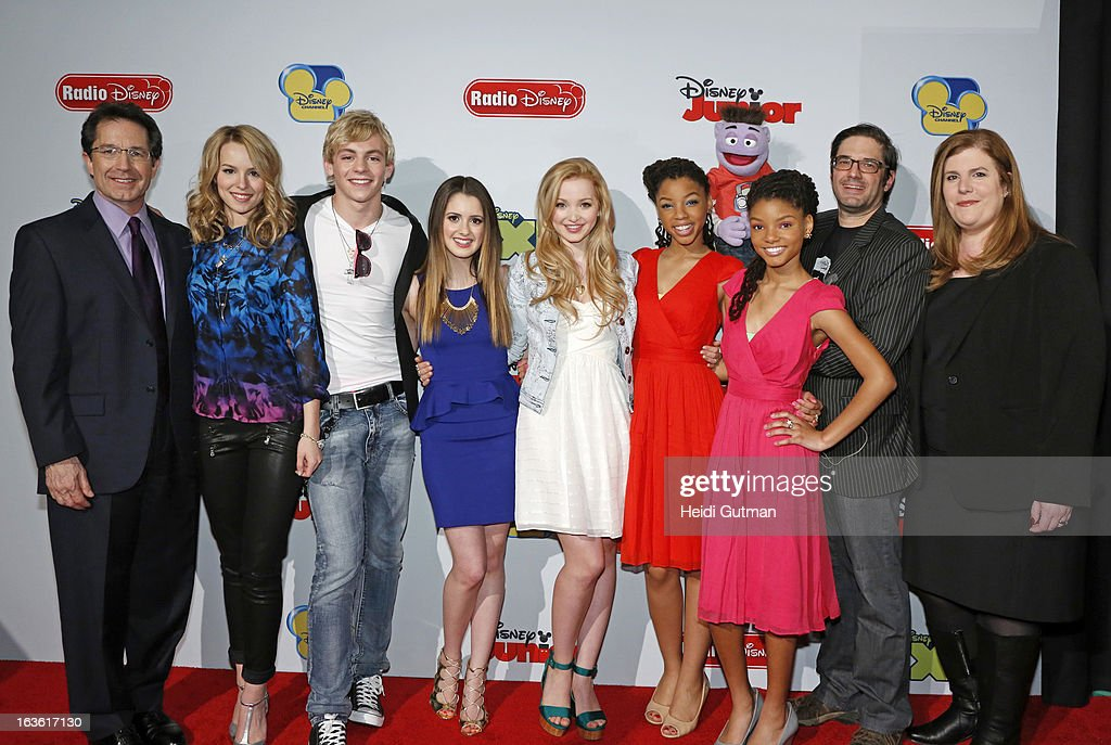 CORPORATE - Disney Channel and Disney XD stars and executives arrive at Disney's Kids Upfront 2013-14 at the Hudson Theatre at Millennium Broadway Hotel in New York (March 12). GARY MARSH (PRESIDENT AND CHIEF CREATIVE OFFICER, DISNEY CHANNELS WORLDWIDE), BRIDGIT