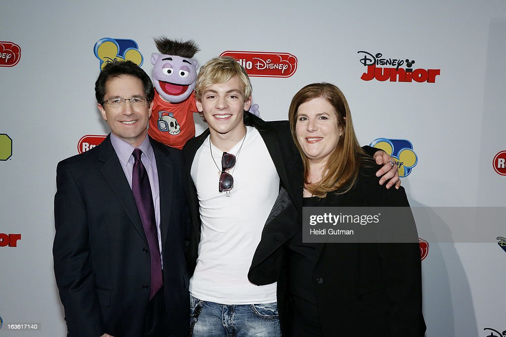 CORPORATE - Disney Channel and Disney XD stars and executives arrive at Disney's Kids Upfront 2013-14 at the Hudson Theatre at Millennium Broadway Hotel in New York (March 12). GARY MARSH (PRESIDENT AND CHIEF CREATIVE OFFICER, DISNEY CHANNELS WORLDWIDE), CRASH, ROSS