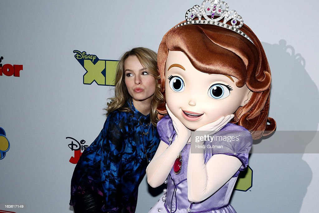 CORPORATE - Disney Channel and Disney XD stars and executives arrive at Disney's Kids Upfront 2013-14 at the Hudson Theatre at Millennium Broadway Hotel in New York (March 12). BRIDGIT