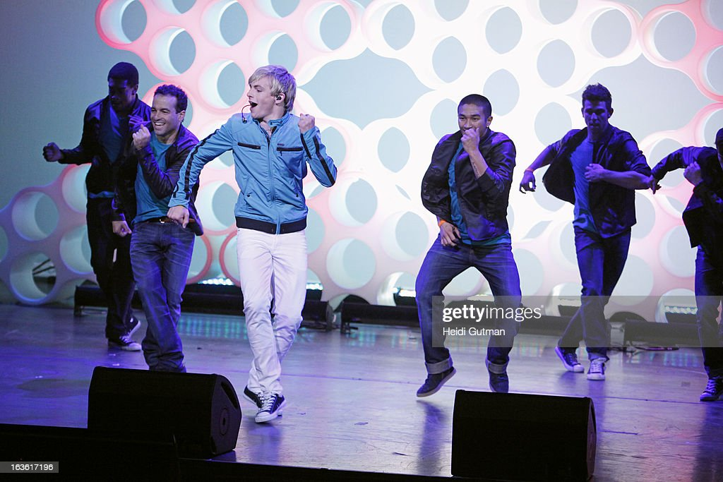 CORPORATE - Disney Channel and Disney XD stars at Disney's Kids Upfront 2013-14 at the Hudson Theatre at Millennium Broadway Hotel in New York (March 12). LYNCH