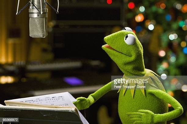 CHANNEL Disney Channel star Tiffany Thornton and Kermit the Frog perform a duet of the new holiday song 'I Believe' The music video will premiere...