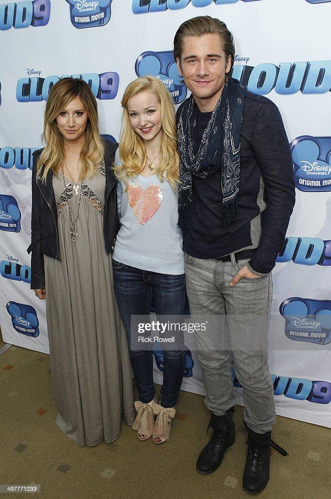 CLOUD 9 - Disney Channel stars attend a Burbank screening of the Disney Channel Original Movie 'Cloud 9' premiering Friday, January 17 (8:00 p.m. ET/PT). , DOVE