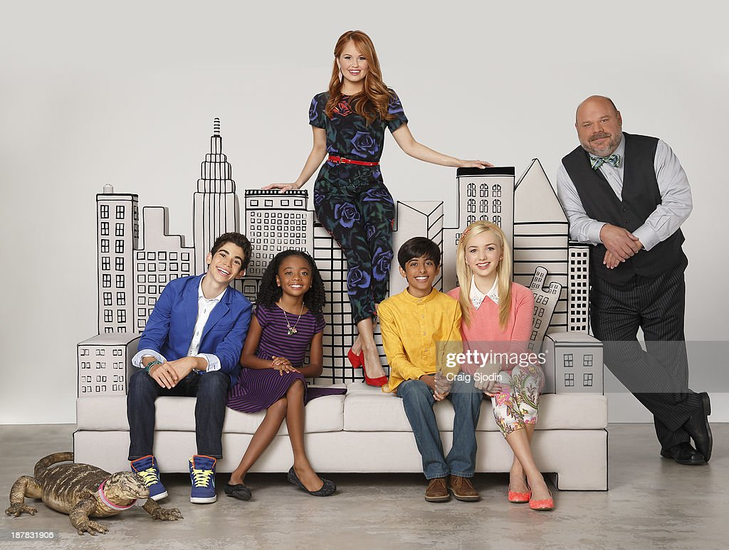 JESSIE - Disney Channel's 'Jessie' stars Cameron Boyce as Luke Ross, Skai Jackson as Zuri Ross, Debby Ryan as Jessie Prescott, Karan Brar as Ravi Ross, Peyton List as Emma Ross and Kevin Chamberlin as Bertram.