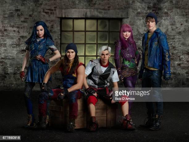 DESCENDANTS 2 Disney Channel's original movie 'Descendants 2' stars Thomas Doherty stars as Harry China Anne McClain as Uma and Dylan Playfair as Gil