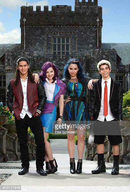 DESCENDANTS Disney Channel's original movie 'Descendants' stars Booboo Stewart as Jay Dove Cameron as Mal Sofia Carson as Evie and Cameron Boyce as...