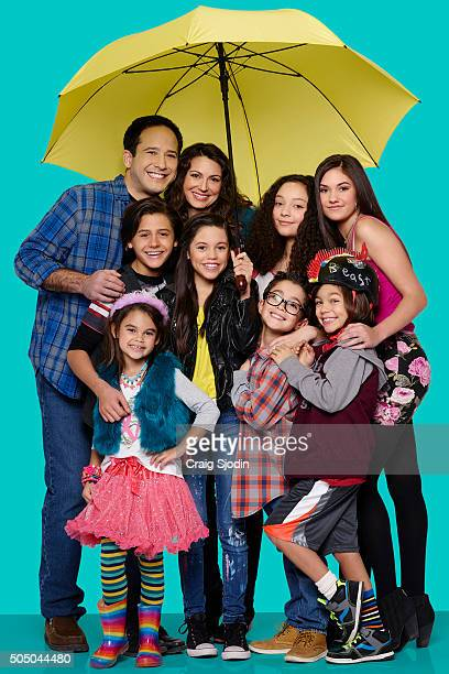 MIDDLE Disney Channel's 'Stuck in the Middle' stars Joe Nieves as Tom Diaz Isaak Presley as Ethan Diaz Ariana Greenblatt as Daphne Diaz Jenna Ortega...