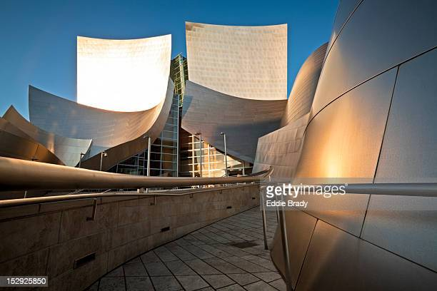 Disney Concert Hall designed by Frank Gehry.