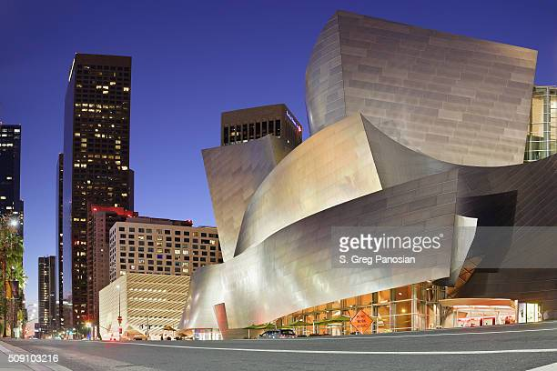 Disney Concert Hall, à Grand Avenue à Los Angeles