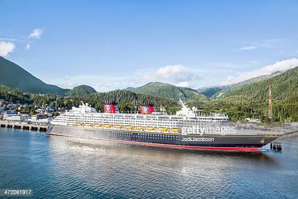 Cruceros Disney reproducido en Ketchikan, Alaska