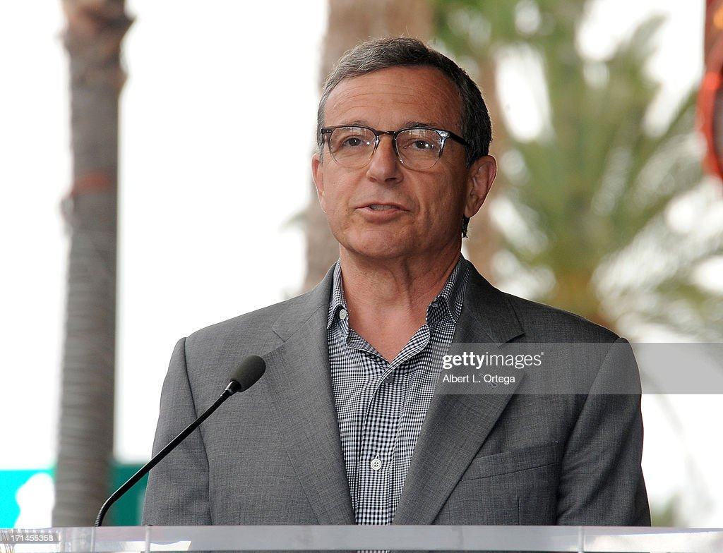 Disney executive Bob Iger attends the Jerry Bruckheimer Star On The Hollywood Walk Of Fame on June 24, 2013 in Hollywood, California.