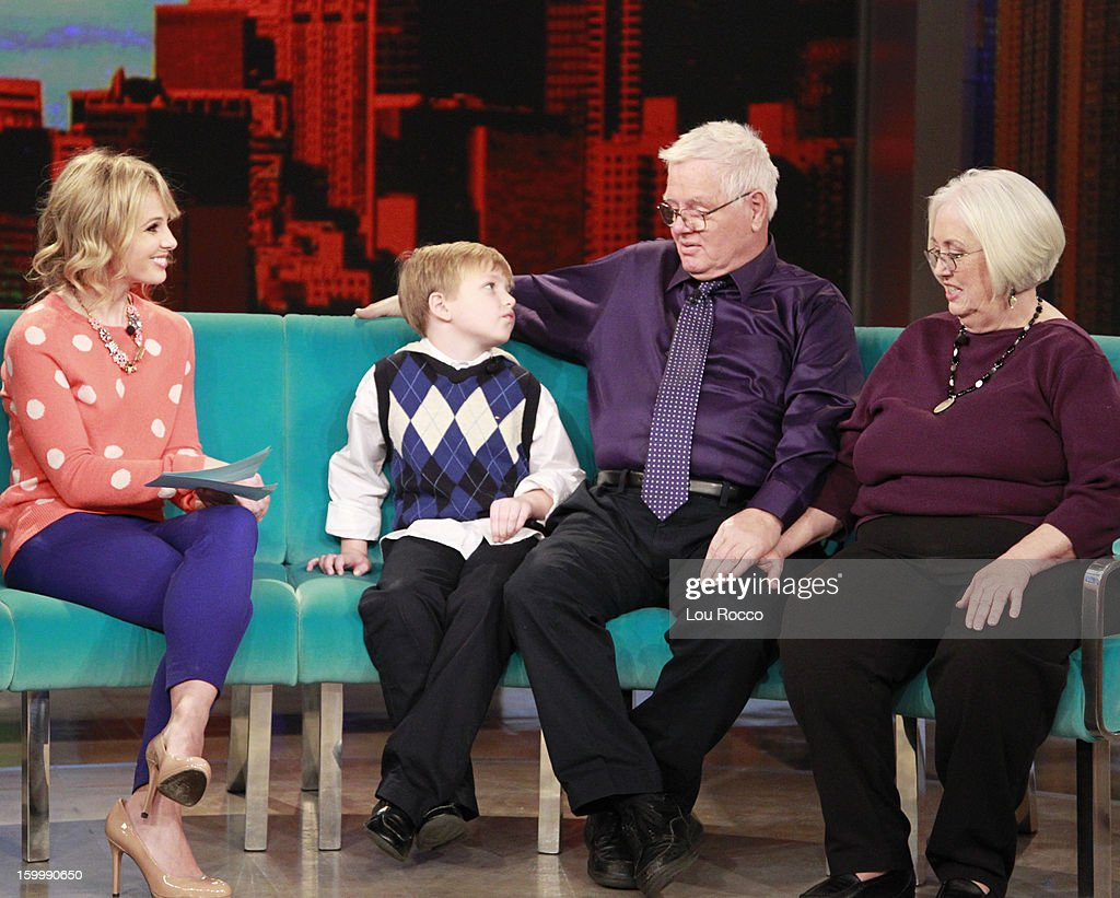"THE VIEW - (airs 1.25.13) ABC News' David Muir guest co-hosts ""Guy Day Friday""; Drew Barrymore introduces her new makeup line, ""Flower""; ""Real Life Hot Topics"" with a brother and sister from Iowa, separated as children, placed into foster care 65 years ago and recently reunited through Facebook. 'The View' airs Monday-Friday (11:00 am-12:00 noon, ET) on the ABC Television Network. BALLIDOU"