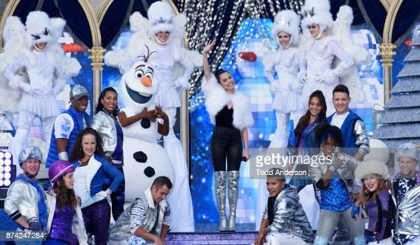 CELEBRATION 'Disney Parks Presents a Disney Channel Holiday Celebration' hosted by 'Raven's Home' stars RavenSymoné and Issac Ryan Brown debuts...