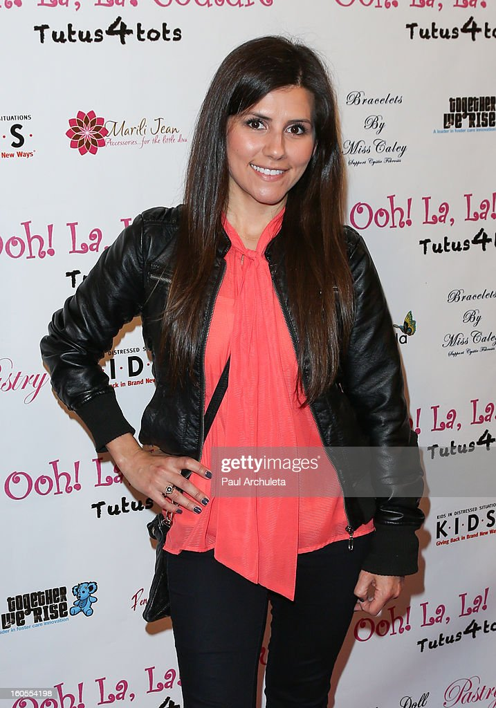 Disney Radio Personality Candace attends the 4th Annual Tutus4Tots charity event on February 2, 2013 in Chino, California.