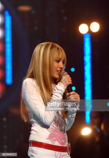 Disney sensation Hannah Montana's debut UK gig at Koko in Camden north London