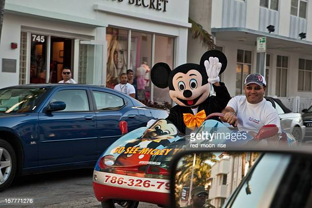 Disney World advertisement in Miami Beach