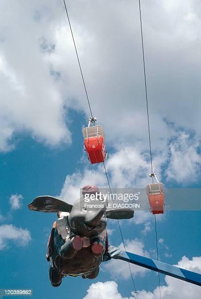 Disneyworld In Florida United States Dumbo flying