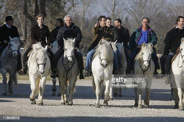 Displacement of Nicolas Sarkozy to Camargue France On December 18 2007Nathalie Koscuisko Morizet Secretary of State for Ecology Yann Arthus Bertrand...