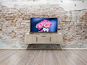 TV display 3d render