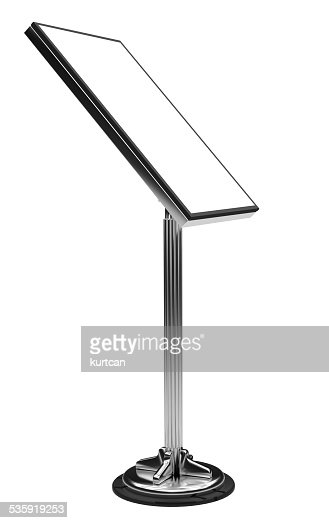 Display Advertising Stand : Stock Photo