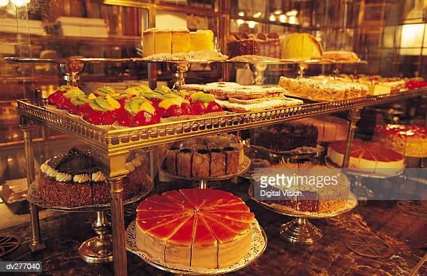 Display at Austrian pastry shop