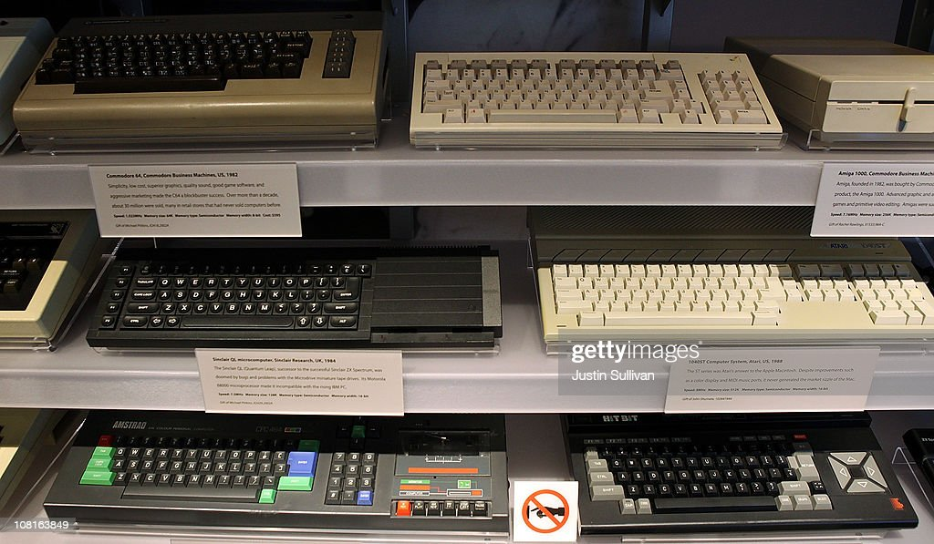 A display of computer keyboards is seen at the Computer History Museum on January 19, 2011 in Mountain View, California. After a two year, $19 million renovation, the Computer History Museum re-opened its doors with a new 25,000 square foot exhibit called Revolution: The First 2000 Years of Computing. The exhibit features over 1,000 artifacts and 100 multimedia stations that explores every major aspect of the history of computing, from the abacus to the smart phone, and every step in between.