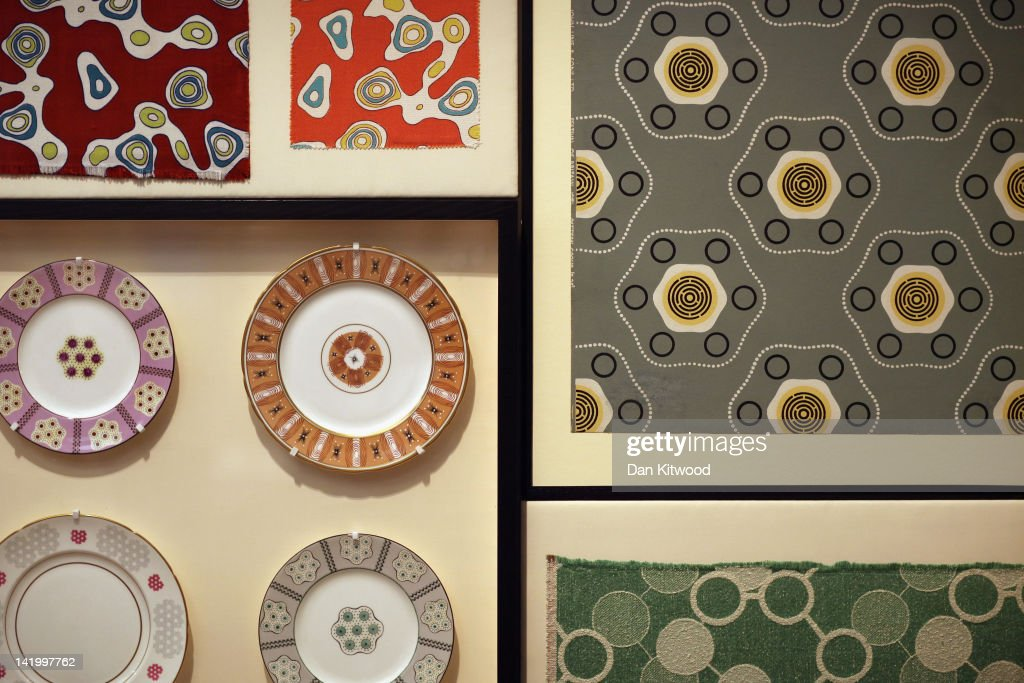 A display of 'Festival Pattern Group' designs are display at the Victoria and Albert museums' new major exhibition, 'British Design 1948-2012: Innovation In The Modern Age' on March 28, 2012 in London, England. The exhibition showcases some of the most iconic product design, fashion, furniture, graphics, architecture and fine art from the last 60 years, and opens to the public from March 31, 2012.