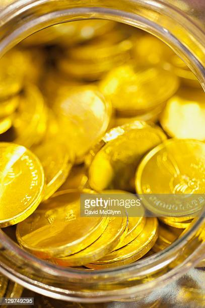 Gold Foiled Milk Chocolate Coins • Chocolate Coins • Bulk ...