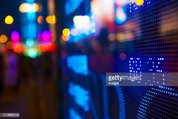表示株式マーケットチャート
